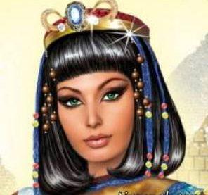 کلو پاترا نمونه آرایشگری مصریان ، آرایشگاه زنانه