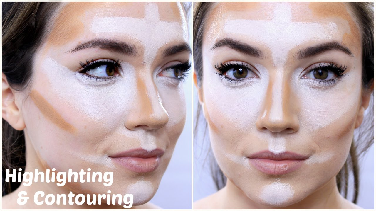 آموزش کانتورینگ چهره ، آموزش کانتورینگ صورت ، آرایشگری زنانه ، آموزش گریم و میکاپ