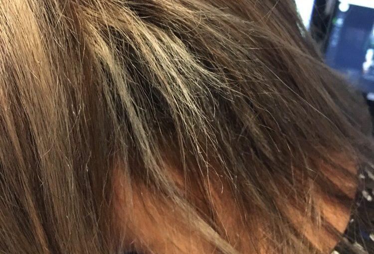 تشخیص سوختگی مو ها
