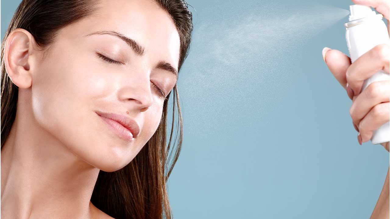 اسپری آبرسان پوست ، دوره پاکسازی پوست