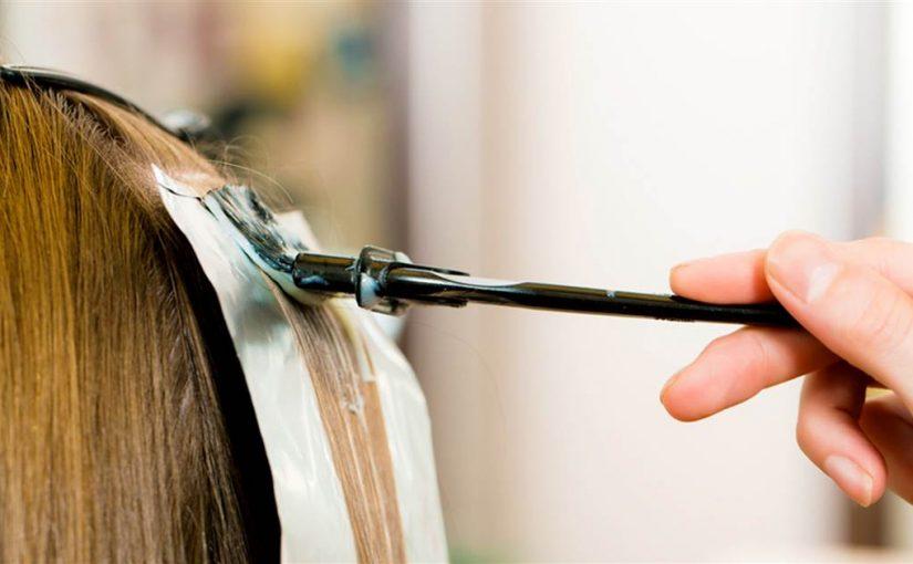 دکلره کردن مو یا دکلراسیون مو در آرایشگری زنانه