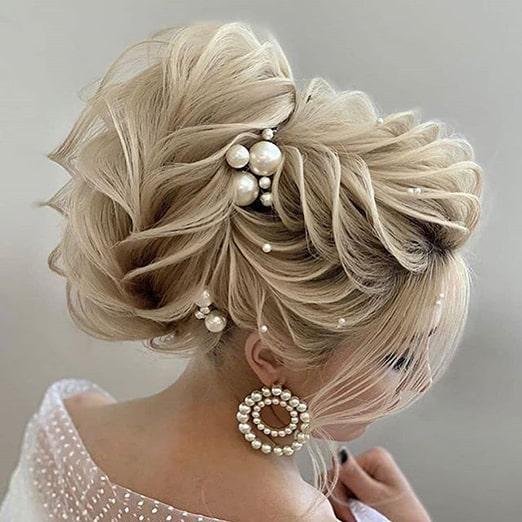 شینیون عروس ، شینیون دخترانه، انواع شینیون ، شینیون کاغذی