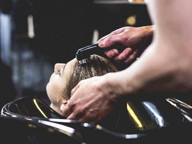 بوتاکس مو در آرایشگاه