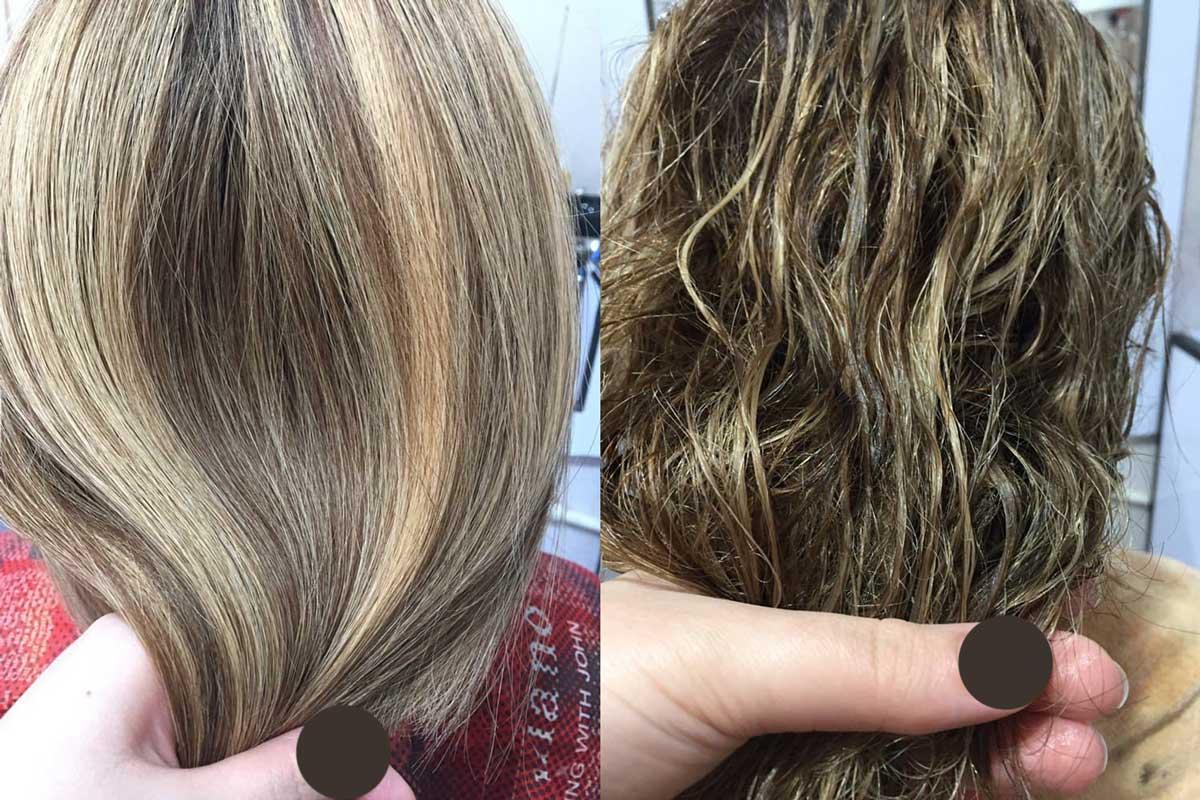 بوتاکس مو برای موهای فر ، بوتاکس مو برای احیا مو ، بوتاکس مو برای صافی مو
