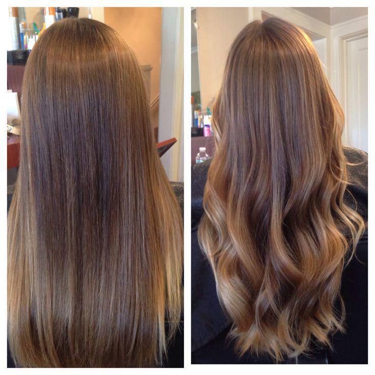 آموزش صافی رنگ کردن و تقویت مو مو در آرایشگری زنانه